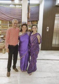 Pashminas .. como salidas de un cuento de la lejana India