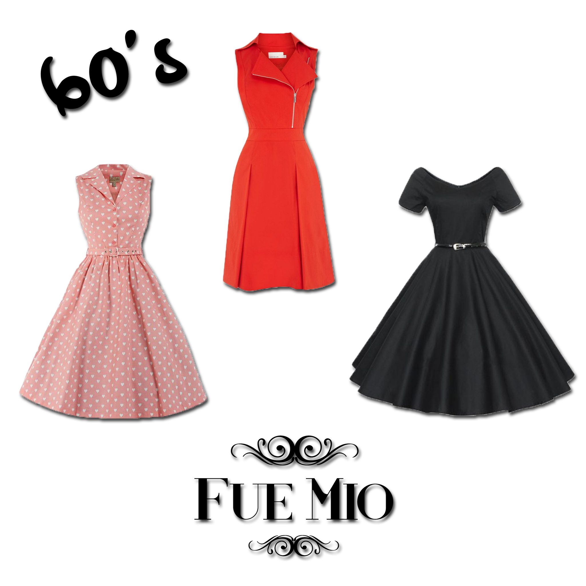 fue mio vintage vestidos 60's