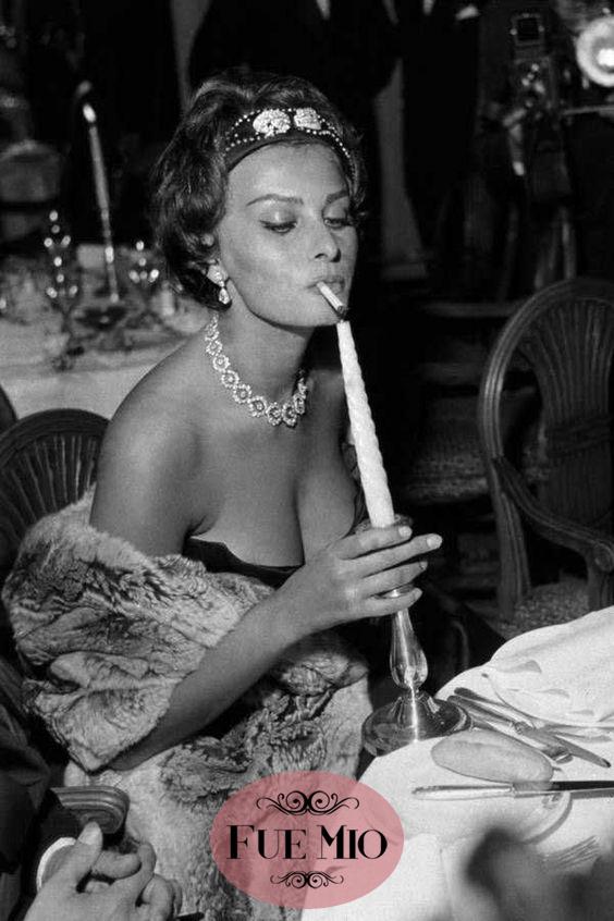 Fue Mio Vintage Iconos personajes moda Sophia Loren