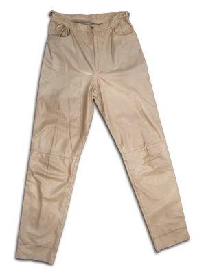 fue mio vintage pantalon cuero