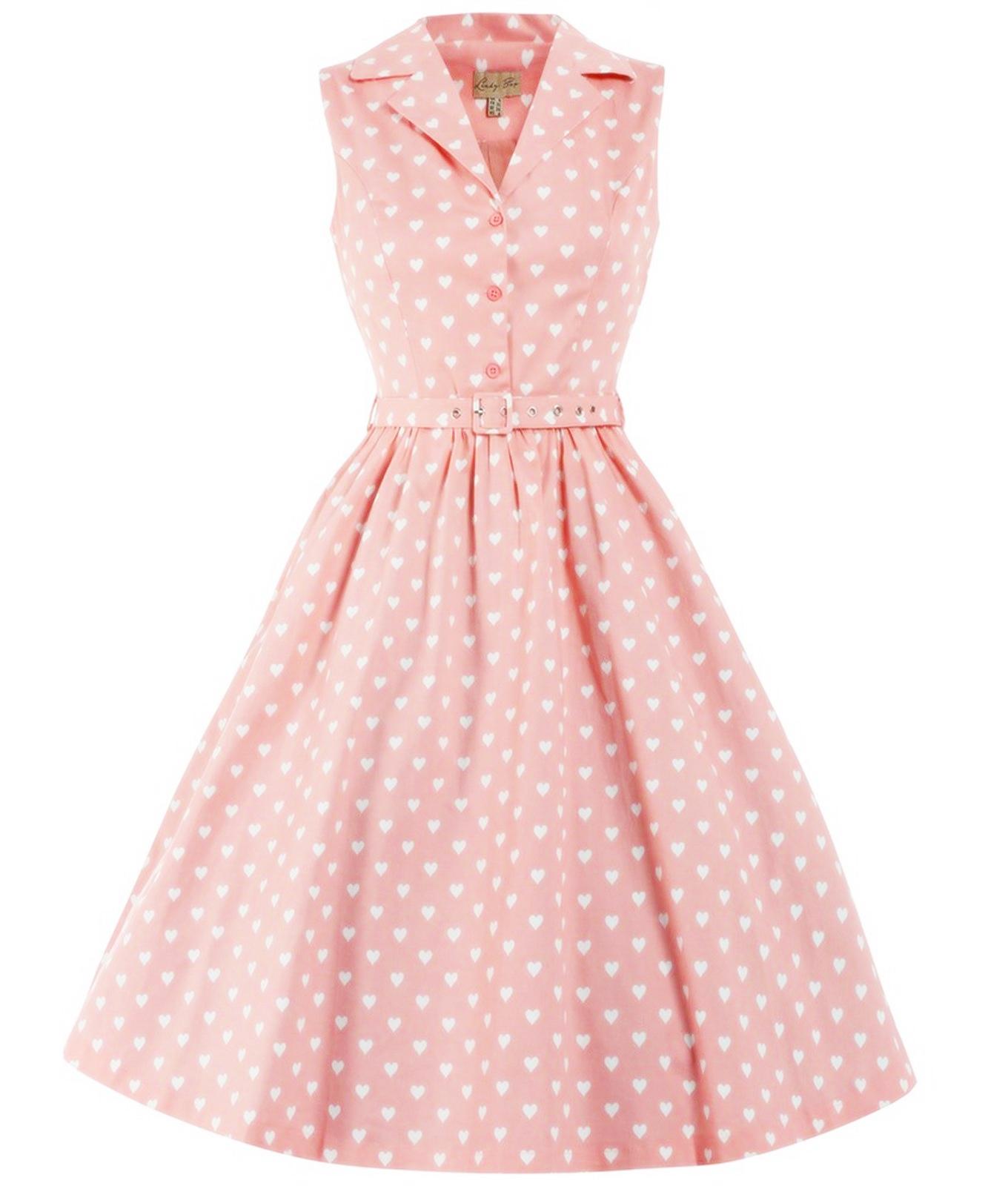 fue mio vintage años 50 vestido lunares