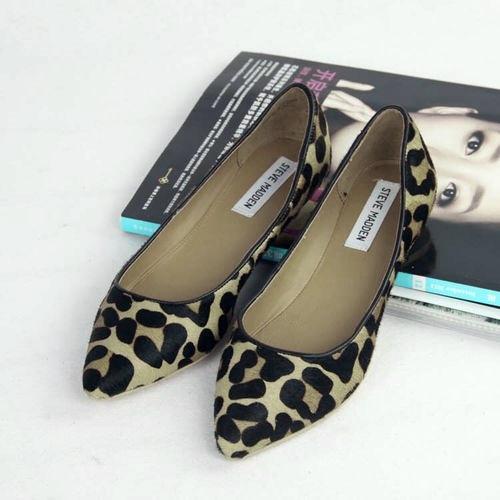 fuemio vintage clasicos moda zapato animal print