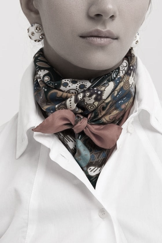 fuemio vintage pañuelo foulard