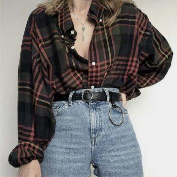 La moda de los 90 «minimalismo y desenfado del grunge»