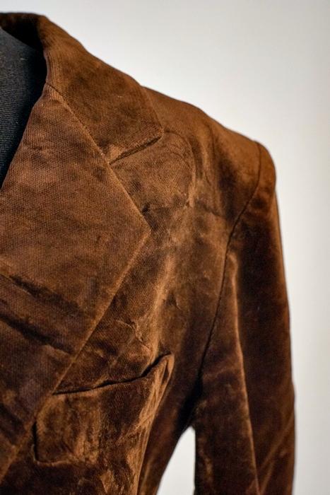 telas usan prendas abrigo