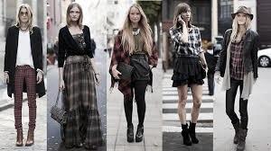 """moda '90 minimalismo grunge y desenfado del grunge"""""""