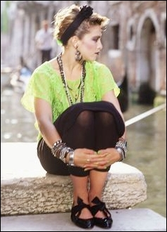 12 tips de moda de la década de los 80's